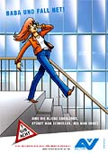 "Poster ""Treppe 1 - Ablenkung"""